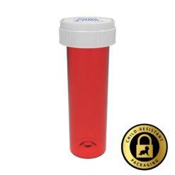 Red Reversible Cap Vials 60 Dram