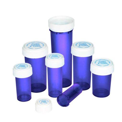 reversible cap vials all dram sizes purple 1 5