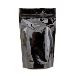 Black Mylar Smell Proof Bags 1 Ounce