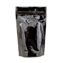 Black and Clear Mylar Smell Proof Bags 1/8 Ounce
