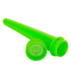 Child Resistant Opaque Lime Conical Tube 102 mm