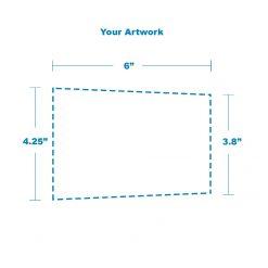 109mm artwork measurements