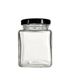 Glass Square Jars 4 oz