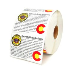 Retail Marijuana Compliant Labels Colorado