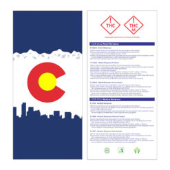 Colorado Compliant Marijuana Kraft Bags