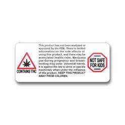 Warning Label Massachusetts