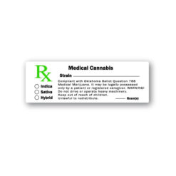 Medical Cannabis Labels Oklahoma