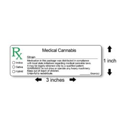 All States Generic Medical Marijuana Labels
