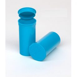13 Dram Opaque Aqua Pop Top Containers