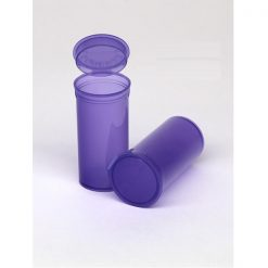 13 Dram Translucent Violet Pop Top Containers