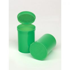30 Dram Opaque Lime Pop Top Containers