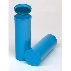 60 Dram Opaque Aqua Pop Top Containers