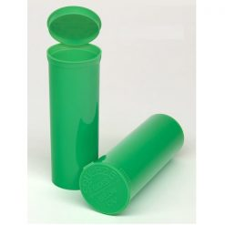 60 Dram Opaque Lime Pop Top Containers