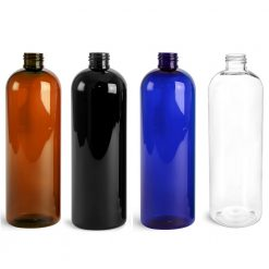 16oz PET Cosmo Round Bottles Plastic