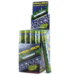 Cyclones Blueberry Flavored Hemp Cones 24/Box