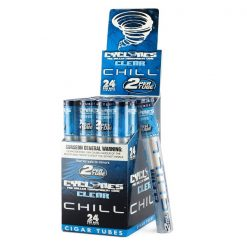 Cyclones Clear Blue Chill Flavored Cones