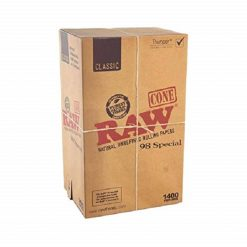 RAW 98mm Special Unbleached Pre Rolled Cones
