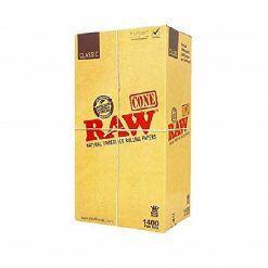 RAW King Size 109mm Unbleached Pre Rolled