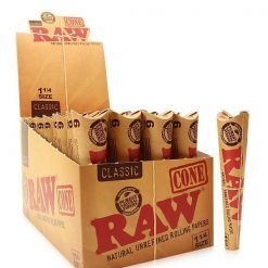 RAW 1 1/4 Size Pre-Rolled Cones