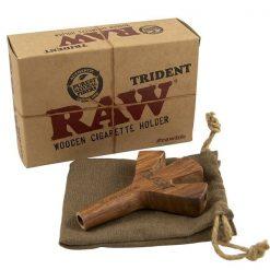 Raw Trident Triple Barrel Cone Holder