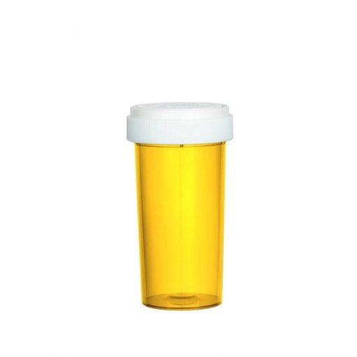 Amber Reversible Cap Vials 40 Dram
