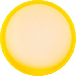 24mm-24-410-Yellow-Ribbed-Matte-Top-Plastic-Cap