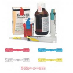 Large Seal - Red IVA™ Seals for Syringes & Medication Containers