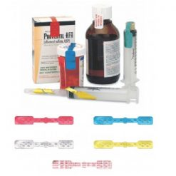 Large Seal - Yellow IVA™ Seals for Syringes & Medication Containers