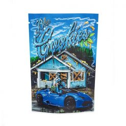 """Blue Cookies"""" Mylar Trapper Bags"""
