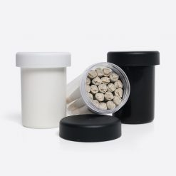 Dogwalker Mini Multi-Pack CR Jar | Black | Holds 20-26 Dogwalker Mini Pre-Rolls
