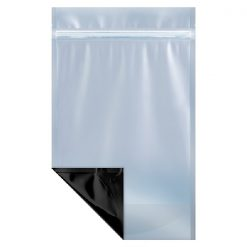 One Pound Clear/Black Barrier Bags